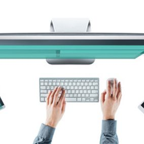 Female digital designer